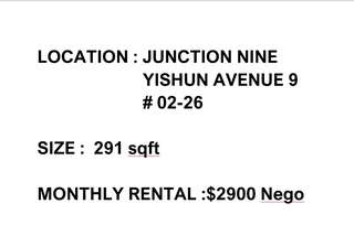 Junction 9 Store for Rent