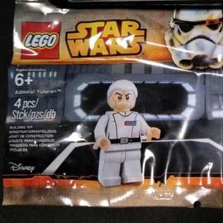 Lego admiral Yularen and C-3PO