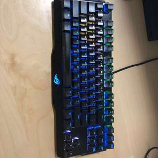 Preloved Asus ROG Claymore Core Blue Switch
