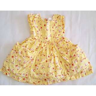 Mothercare Yellow Baby Dress