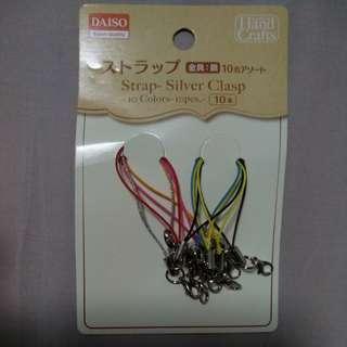 Daiso Silver Clasps