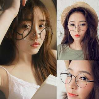 Round Korean Fashion Glasses ~FASH~
