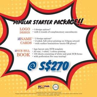 Logo Design Popular Package
