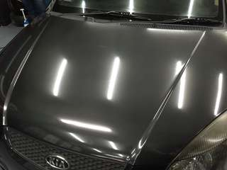 6D Carbon fiber bonnet wrap