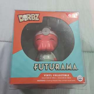 Legit Brand New With Box Funko Dorbz Futurama Zoidberg Toy Figure