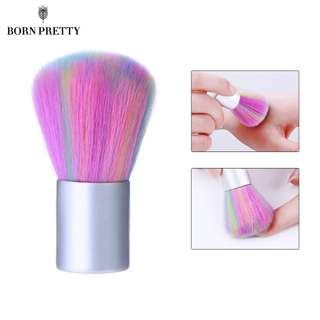 Rainbow Pink Color Soft Nail Cleaning Brush Acrylic UV Gel Powder Dust Remover Tool Manicure Nail Care DIY Salon Tool