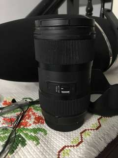 Sigma 18-35mm ART *CANON MOUNT*