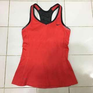 Nike Red Tank
