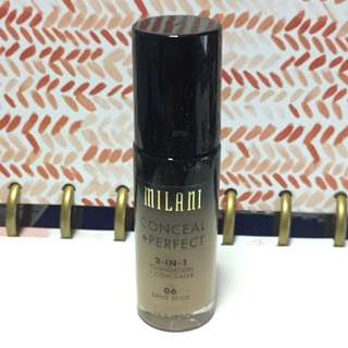 Milani Conceal + Perfect 2-in-1 Foundation + Concealer in 06 Sand Beige