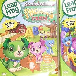 Leap Frog Scout & Friends Phonics Farm + Number Land