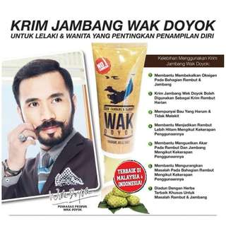 Krim Jambang & Rambut Wak Doyok