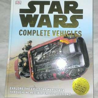 Star Wars Complete Vehicles Updated With The Force Awakens DK Books Hardcover