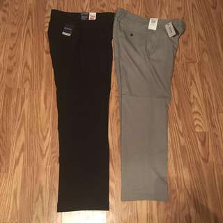 🔥👔💯% authentic bnwt dress pants Kenneth cole and Stafford
