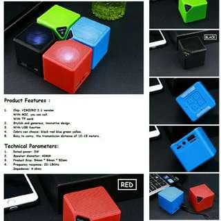 Mini Box Shape Wireless Bluetooth Speaker