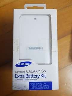 Samsung S5 extra battery kit原裝電套裝