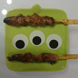 碳燒日式雞肉串燒$85(50串)