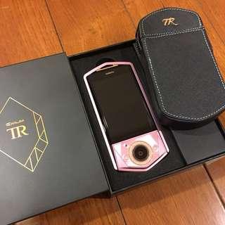 Tr80 桃紅色 粉紅色 配備齊 櫻花粉 水鑽框