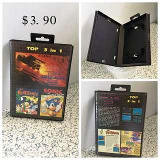 Sega Empty Game Box