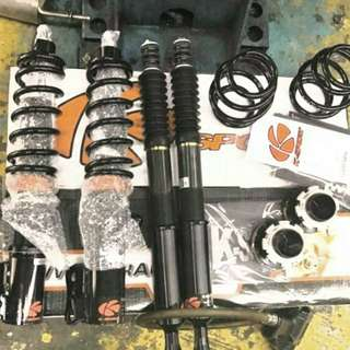 Selling pristine condition k sport honda ge6/ge8 coilover