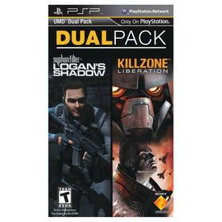 Brand New & Sealed PSP Dual Pack: Syphon Filter: Logan's Shadow / Killzone: Liberation
