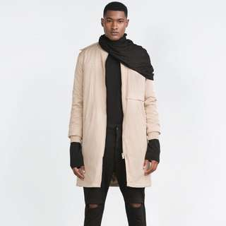 Zara Long Bomber