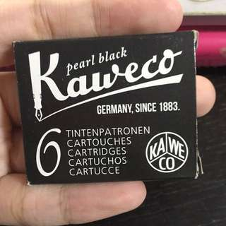 Kaweco pearl black ink cartridge