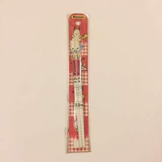 Sanrio vintage Pochacco PC狗 筷子 1991
