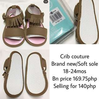 Fringe soft sole Crib couture
