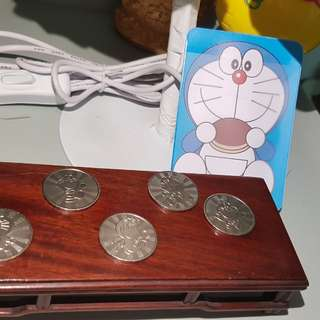 Doraemon Card Case + Doeaemon Coin
