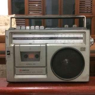 Radio tape kuno