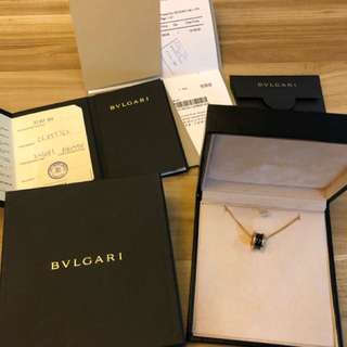Bvlgari B zero 1 Black ceramic and Rose gold
