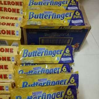 BUTTER FINGER 6PACK 110.5grams