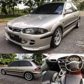 CASH BUYER WELCOME!!!  proton satria gti (original condition)