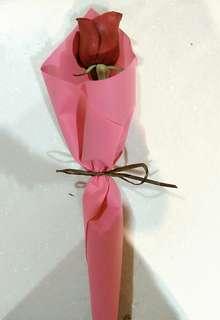 Single stalk roses
