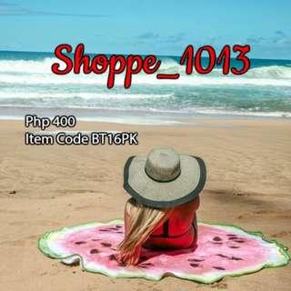 Round Beach Towel Watermelon Design Pink-BT16PK