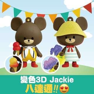Octopus card 百達通 the bears school 3D造型 變色公仔百逹通