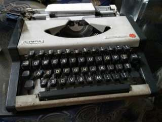 Olympia Portable Typewriter