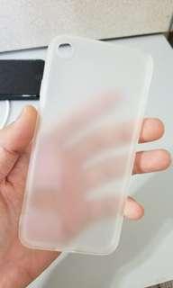 Apple IPHONE 7 透明磨砂軟套