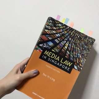 Media Law In Singapore (Fourth Edition) by Teo Yi-Ling