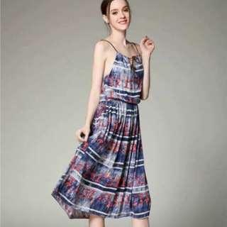 🌟Rayon Cotton Full Print Dress