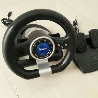 Racing Wheel  for xbox 360/PC