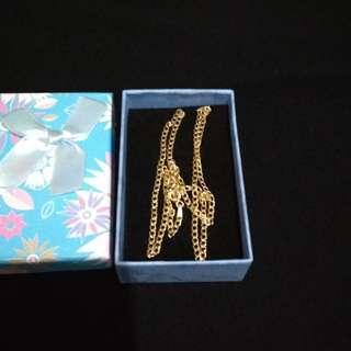 Authentic gold chain 18k