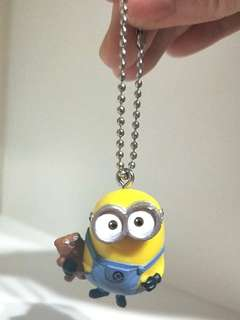 🍊💞CNY 50%TIME SALE!! 🐶 (U.P: $12) BRAND NEW MINION KEYCHAIN FOR SALE!!  CAN BE USE TO HANG KEYS / PENCIL CASE / BAG,  ANYWHERE YOU LIKE AS LONG AS UR HAPPY!! SUPER DUPER CUTE!! ONLY 1!! HURRY WHILE STOCK LAST!! GRAB BEFORE ITS GONE!!