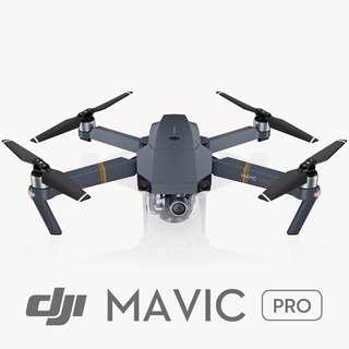 PERKHIDMATAN SEWA DRONE - DJI MAVIC PRO