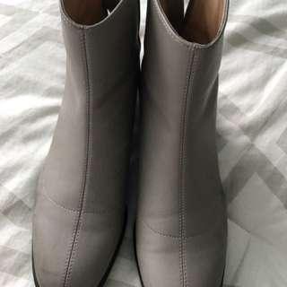 Zara grey boots