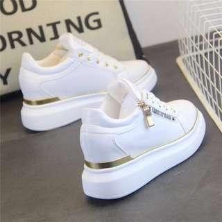 White Platform Shoes 35-40