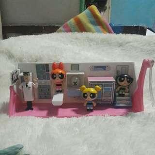 Powerpuff Girls Lab and Room Set