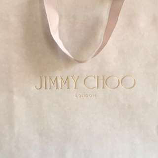 Jimmy Choo Designer Paper Bag