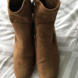 Zara sock boots size 7