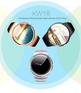 KingWear KW18 1.3'' IPS Round Dial Smartwatch